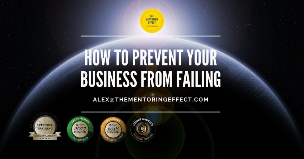 Prevent your business from failing