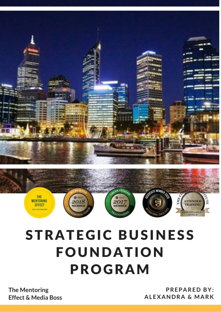 Strategic Business FoundationProgram